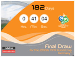 Countdown (by Rakete) zum Final Draw