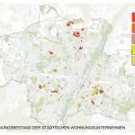 Wohnungen Bestand - Grafik München