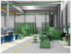 Fabrikplanung in 3D