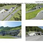 Tunnelbauwerke als 3D-Visualisierung