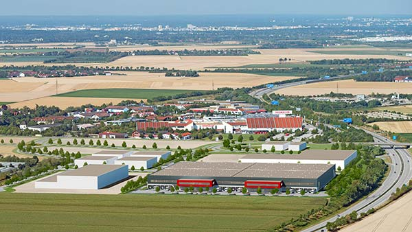 Logistikcenter Parsdorf